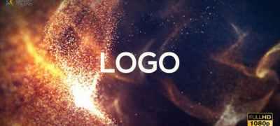 Macro Particles Logo Intro