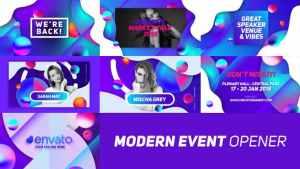 Modern Event Opener