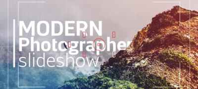 Modern Photographer Slideshow Opener