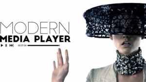 Modern Media Player