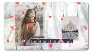 Petals Emotional Slideshow