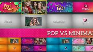 Pop Vs Minimal | Fast Slideshow Pack
