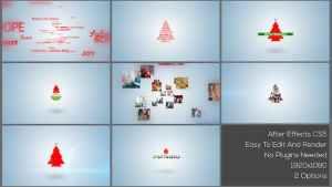 Typo & Video Christmas Logo Intro