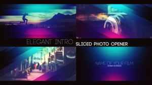 Elegant Intro - Sliced Photo Opener