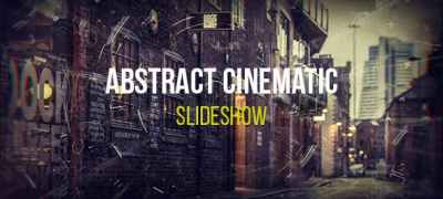 Abstract Cinematic Parallax Opener | Slideshow