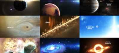 Solar System 3 ( The Observable Universe ) 8K