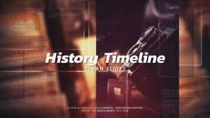 History Timeline - Clean Slides