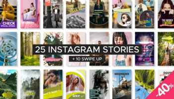 After Effects Projects | Download Instagram Stories Pack