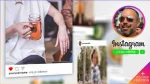 Instagram Promo 3D Gallery