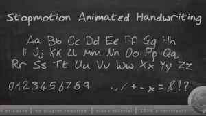 Stopmotion Handwriting