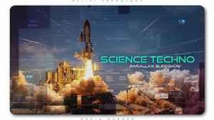 Science Techno Parallax Slideshow