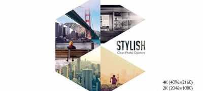 Stylish Photo Openers - Logo Reveal