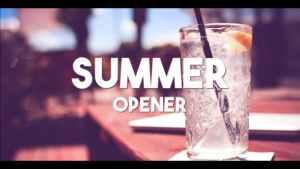 Summer Typography Slides