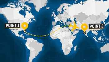 After Effects Projects   Download World Travel Maps - South