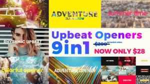 Upbeat Summer Openers - Bundle 9 in 1