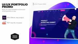 UI/UX Portfolio Promo