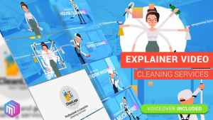 Edit Explainer Video | Cleaning Services