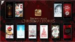 10 Instagram Christmas Stories