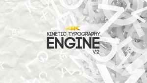 Kinetic Typography Engine V2 4K