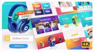 Online Market   Universal Product Promo