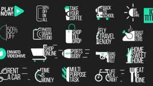 Icon Titles