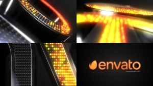 Neon Spheres Element 3D Opener