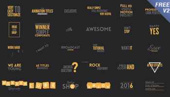 After Effects Projects | Download Typography - FREE Videohive