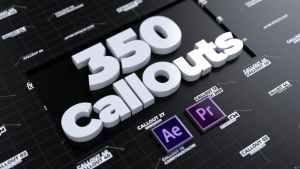 CallOuts | For Premiere Pro and After Effects