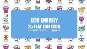 Eco Energy - Flat Animation Icons