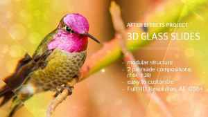 Glass Slides 3D
