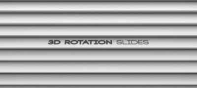 3D Rotation Slides