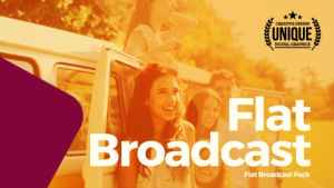 Flat Broadcast Pack