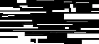 Flat Glitchy Logo
