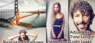 Flexible Split Screen 56 Photo Slideshow