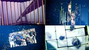3D Split Slideshow