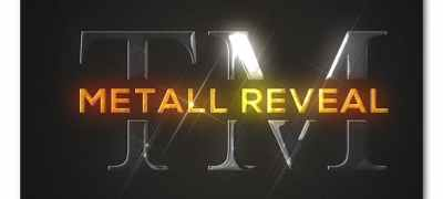 Bright Metallic Logo Reveal