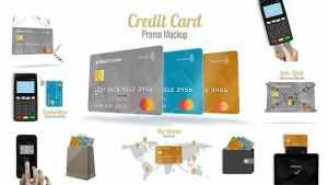 Credit Card Promo Mock-up