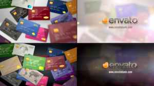 Credit Debit Prepaid Card Logo Reveal