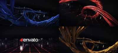 Digital Wire Ribbon Logo Reveals