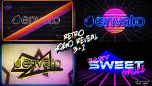 Retro Logo Reveal Pack Vol.2