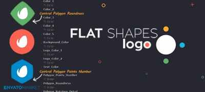 Flat Shapes Logo