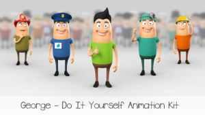 George - Character Animation DIY Kit