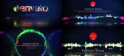 Glitch Music Visualizer