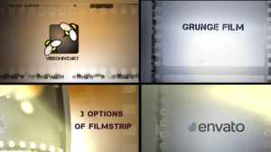 Grunge Film Logo