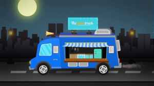 Food Truck Logo Reveal