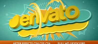 Spring 3D Titles Logo Opener