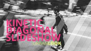 Kinetic Diagonal Slideshow