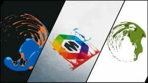 Corporate Logo V19 Liquid Hand Drawn