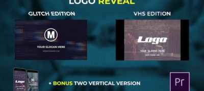 Logo Reveal - VHS & Glitch Edition