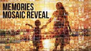 Mosaic Photo Reveal - Memories